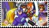 Mega Man X4 stamp by recastanho