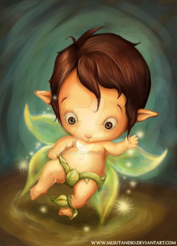 Baby Fairy by MLSutandio