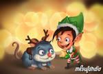 Christmas Elf's Rudolph