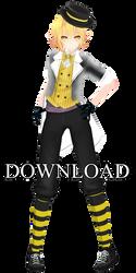 Tricker Nero TDA [Download] THANKS! 300 Watchers  by Kurusou