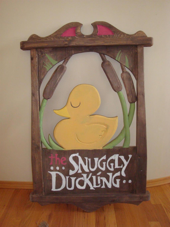 The Snuggly Duckling Sign By Nikitakitten On Deviantart