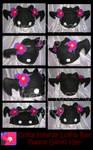 Lolita Bat Fleece Genki Hat