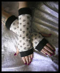 Sweet Skull Lolita Arm Warmers