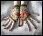 Gemma's Lace Fingerless Gloves