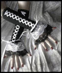 Soot - Snow Corset Arm Warmers