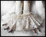 Solstice Corset Fingerless Glove Cuffs