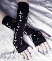 Lothaire Arm Warmers by ZenAndCoffee