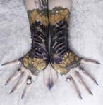 Bijou Lace Fingerless Gloves