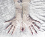 Stasya Lace Fingerless Gloves