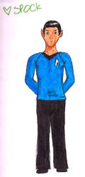 Spock by Lil-Moony
