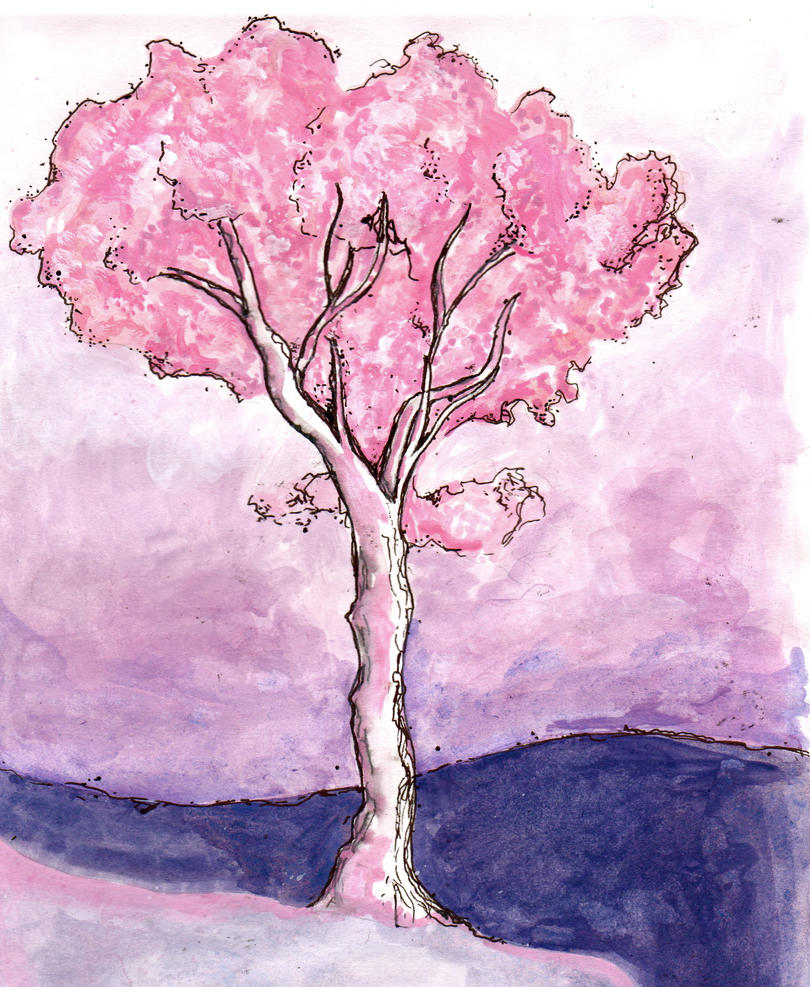 The Pink Tree by RowanF