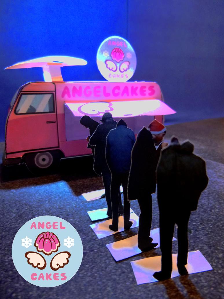Angel Cakes Van by RowanF