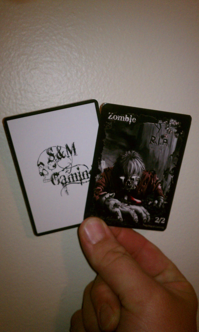Zombie Token 01 Final Print by SandM-Gaming