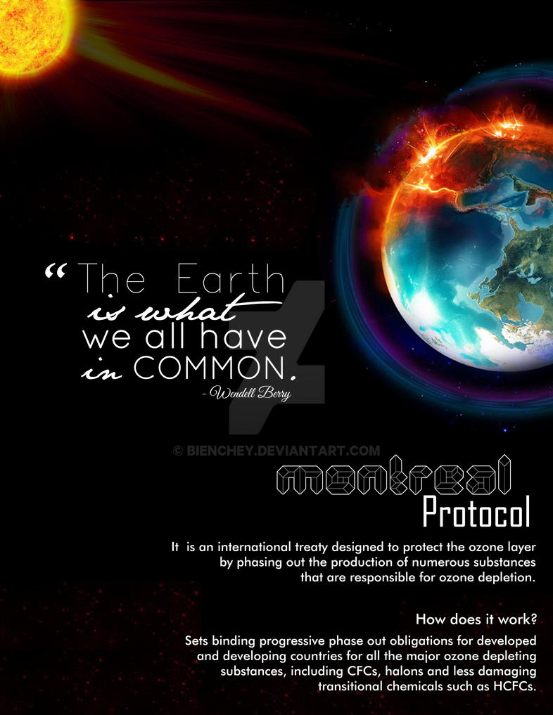 Montreal Protocol by bienchey
