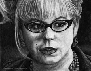 Kirsten Vangsness by cmloweart