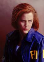 Scully by cmloweart