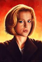 Scully study by cmloweart