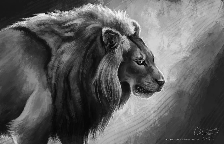 SKETCHES: Lion 0002 by Islandstar