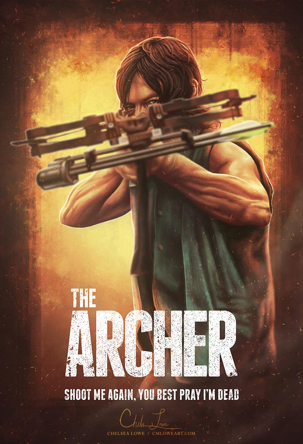 The Archer by cmloweart
