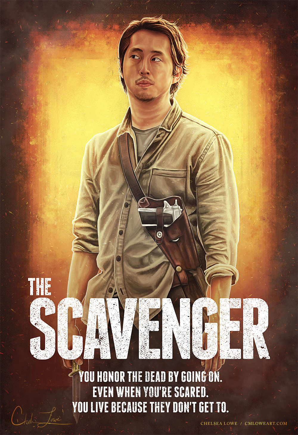 The Scavenger by cmloweart
