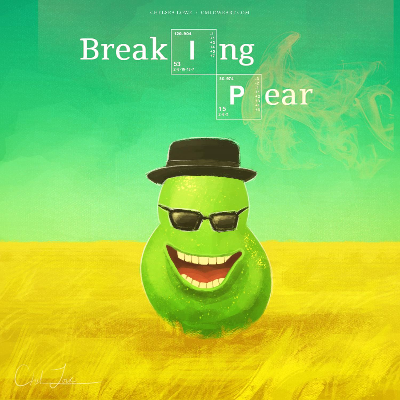 Breaking Pear - April Fools 2017 by cmloweart