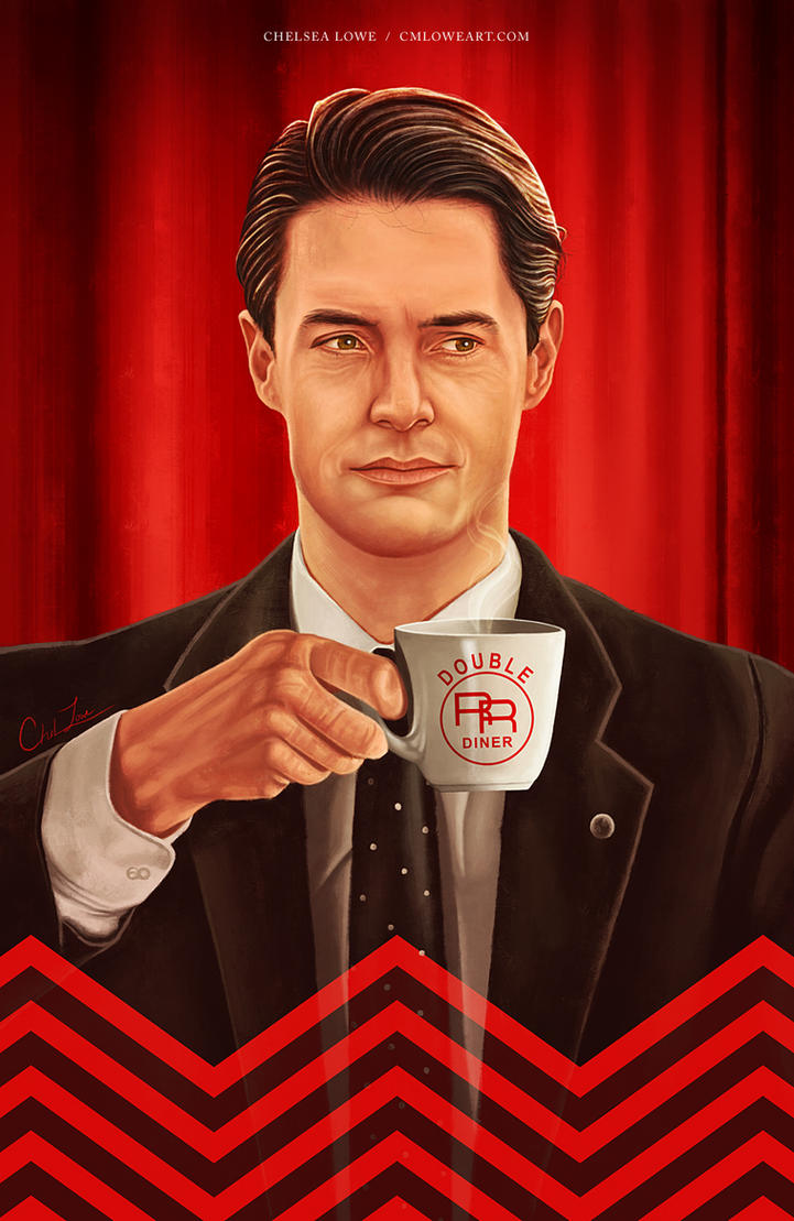 Dale Cooper by cmloweart