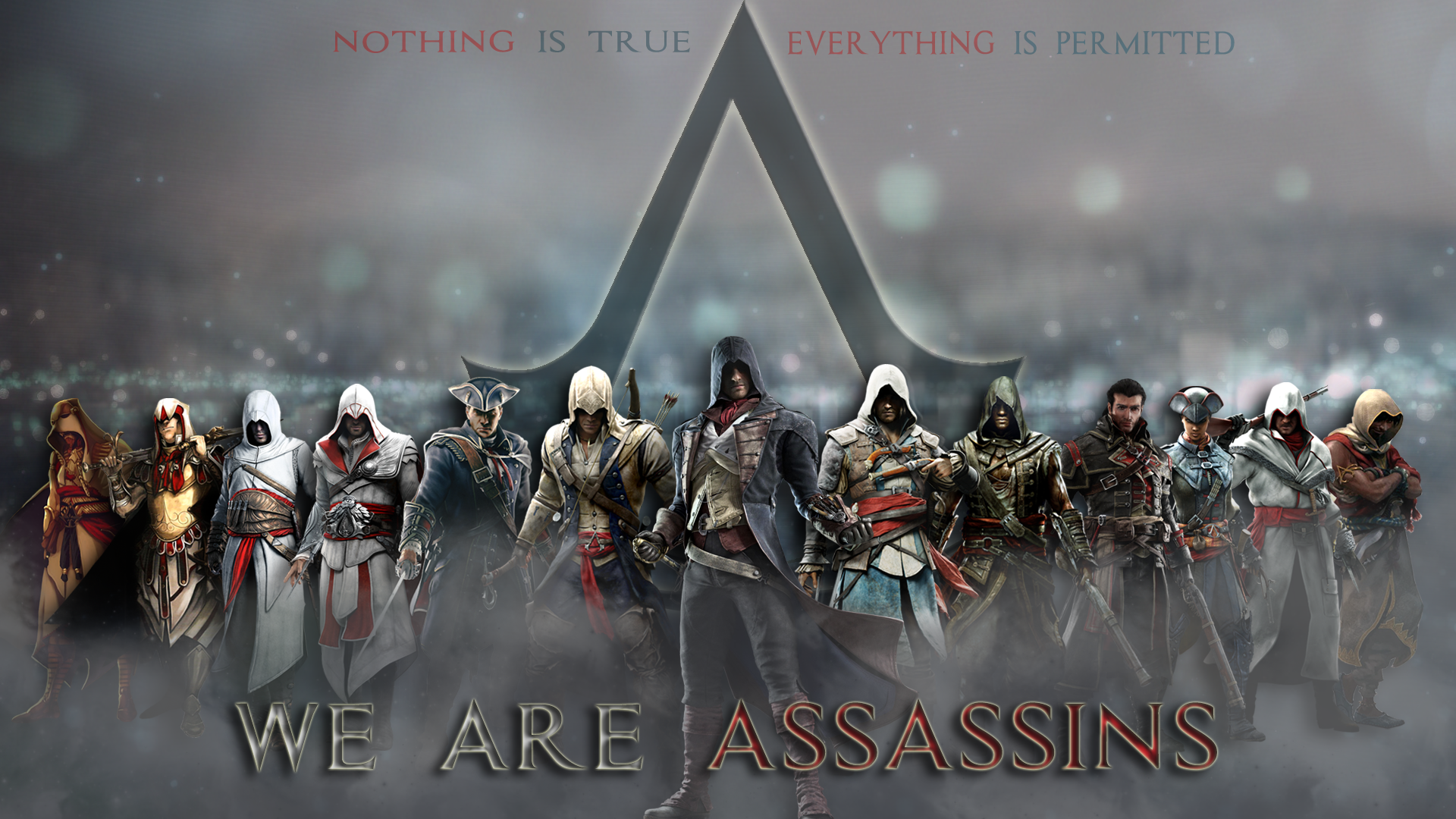 Assassin S Creed Assassins Wallpaper By Trinitynexus384 On Deviantart