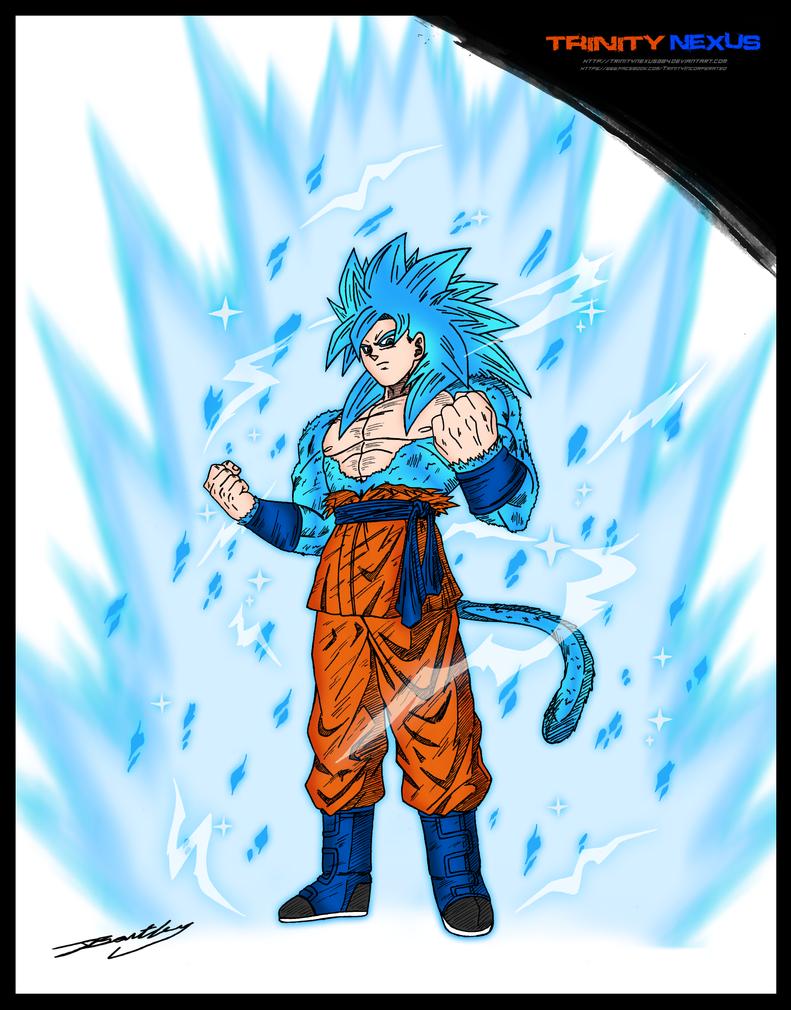 Super saiyan god super saiyan 4 goku by trinitynexus384 on - Sangoku super saiyan god ...