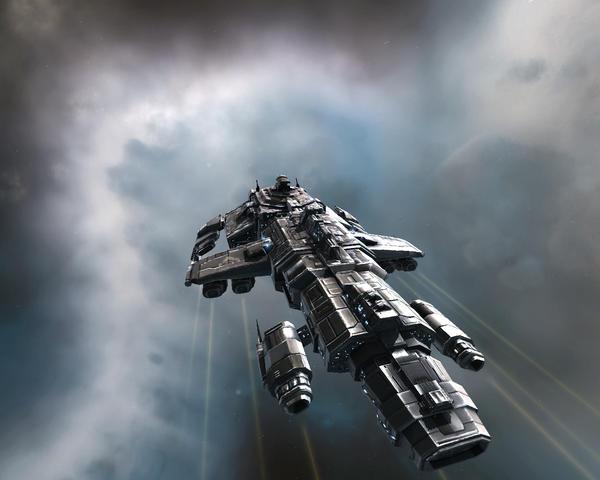 My EVE ship by Per-Aa-Atemu