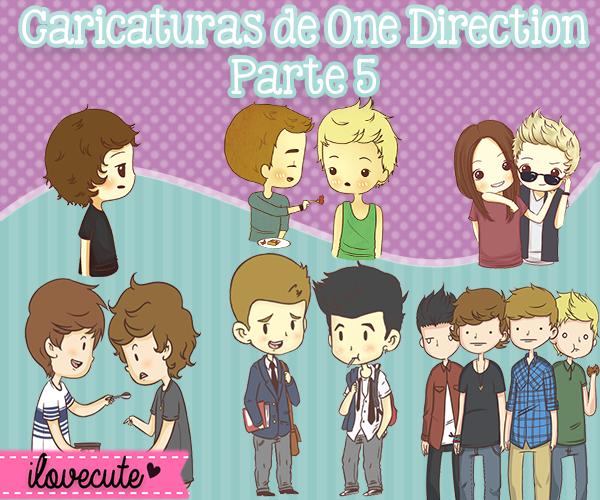 Caricaturas de One Direction Parte 5 by IloveCute1220