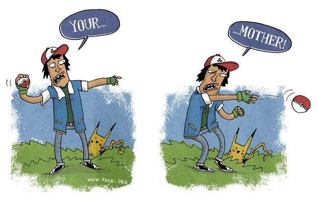 Pokemon by TomPastuszka