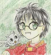Harry Potter,chibi one by flight514
