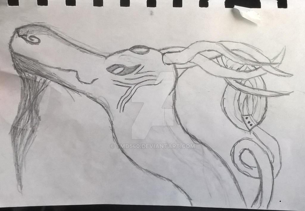A puffy dragon by tmd540