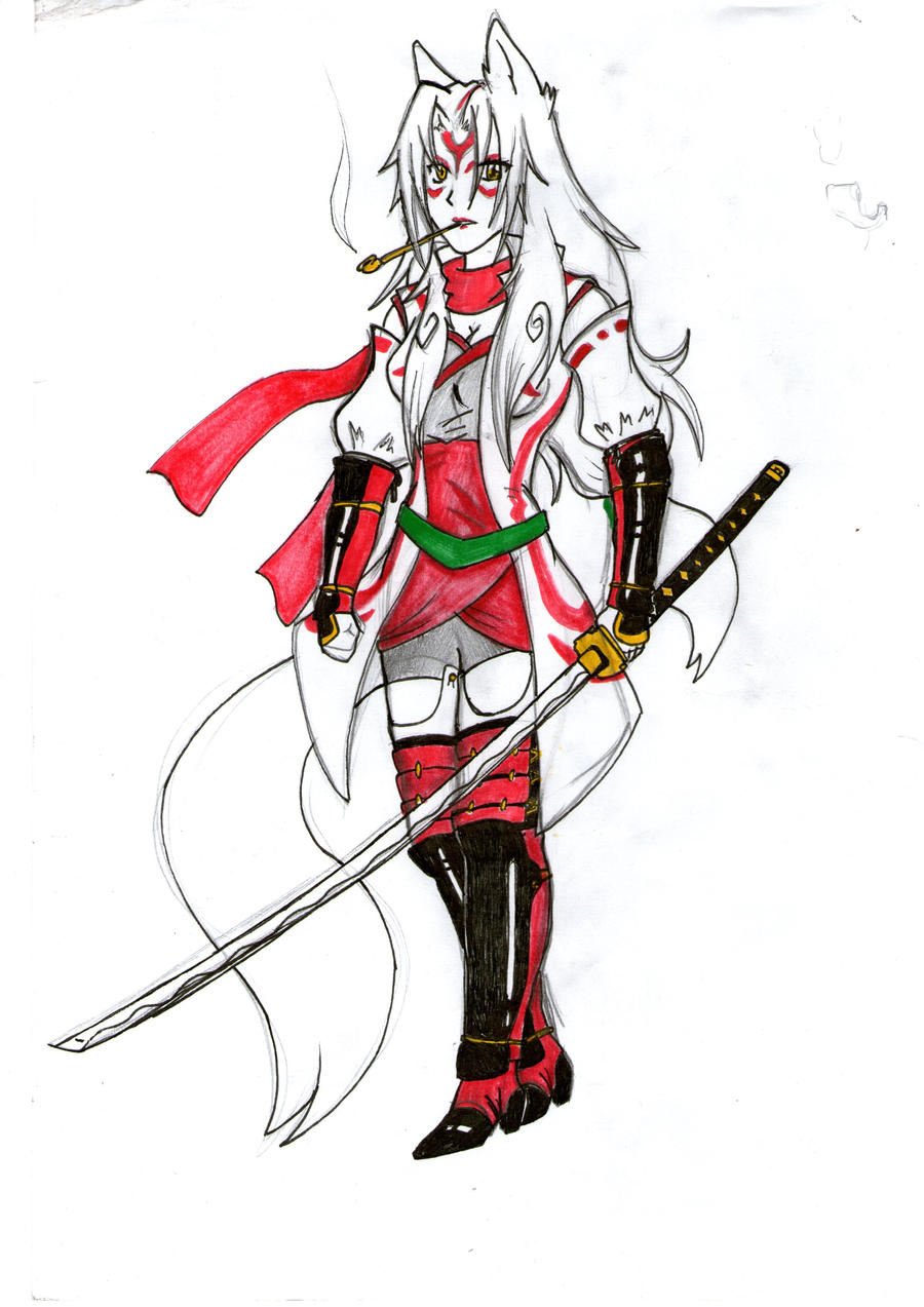 the gallery for gt okami amaterasu human form in game