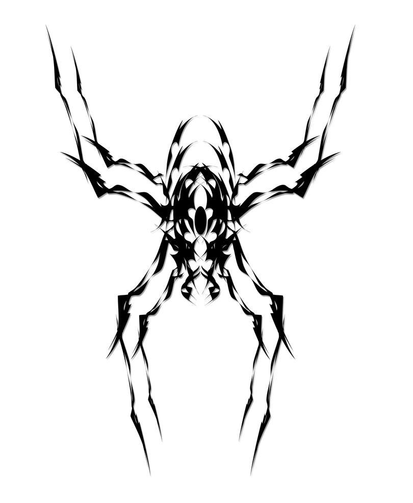 tribal spider 2002 by nigram on deviantart. Black Bedroom Furniture Sets. Home Design Ideas