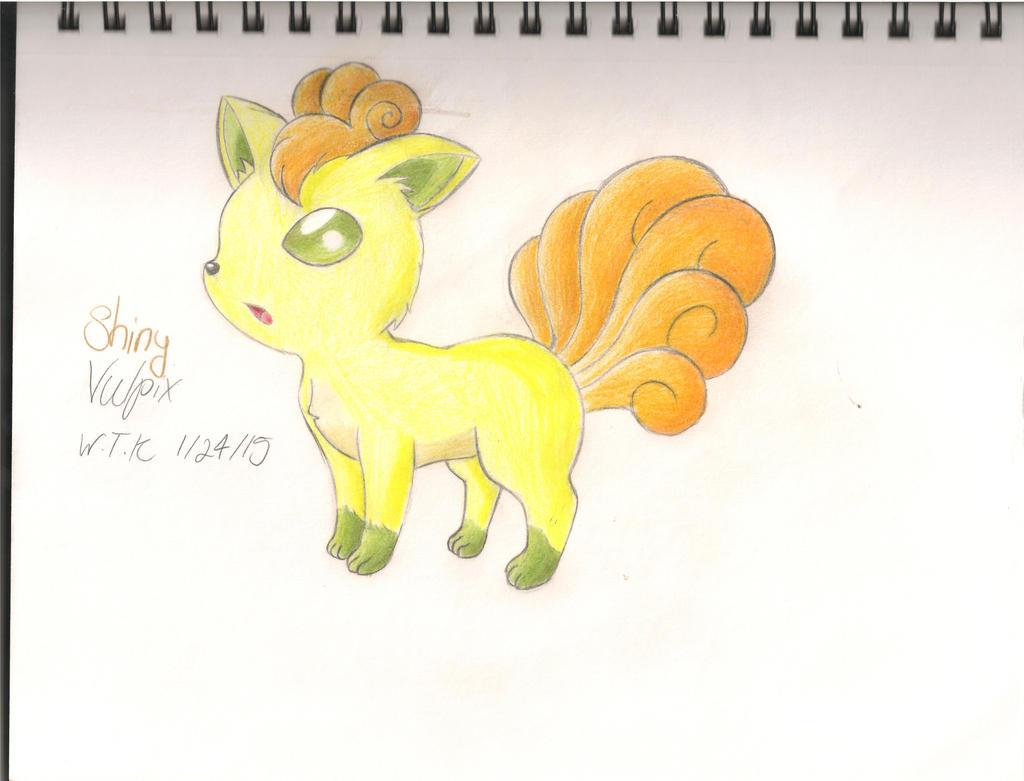 My Shiny Vulpix by WispTheKitty