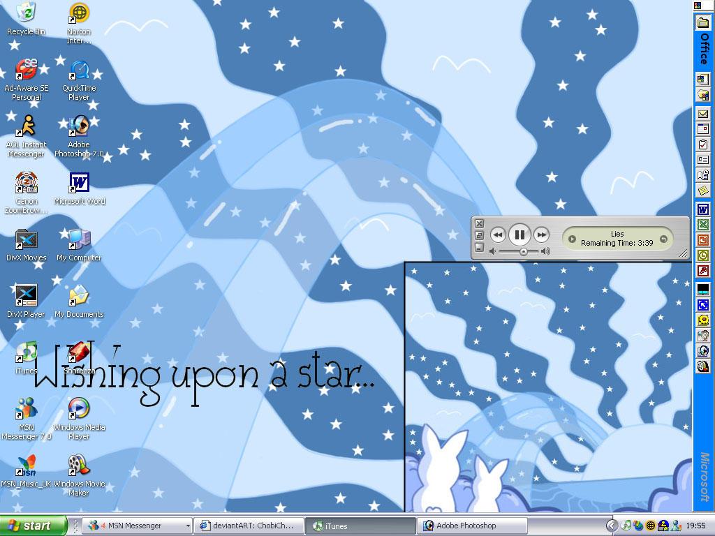 Bunnay Desktop by ChobiChibi