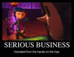 Coraline: Serious Business