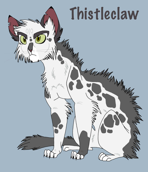 Warrior Cats Thistleclaw And Snowfur Thistleclaw by graystripe64
