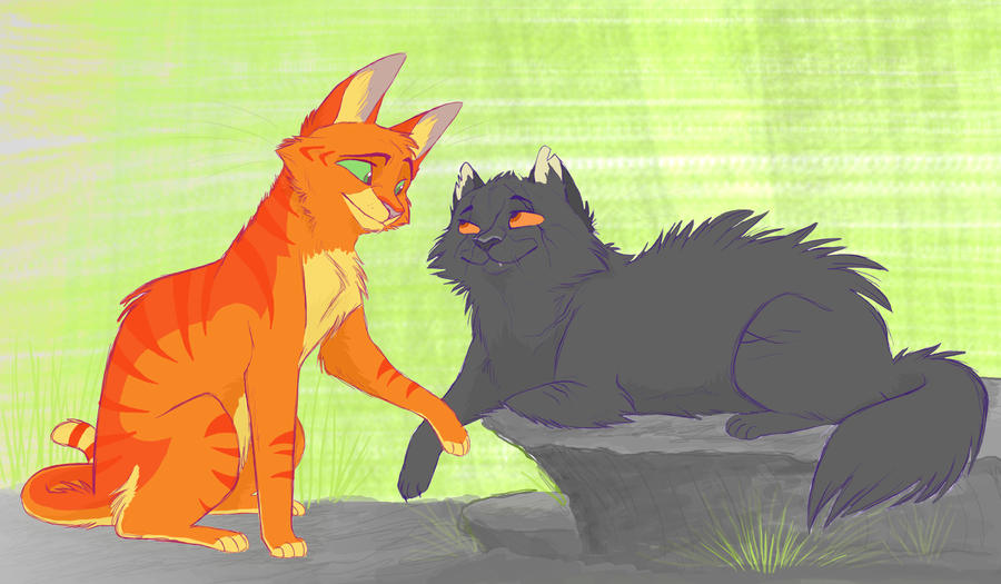 Yellowfang And Fireheart Like a Son by Graystri...