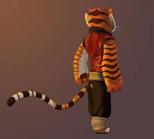 Tigress -- Back View by Graystripe64