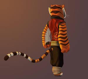 Tigress -- Back View