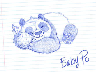 Baby Po by Graystripe64