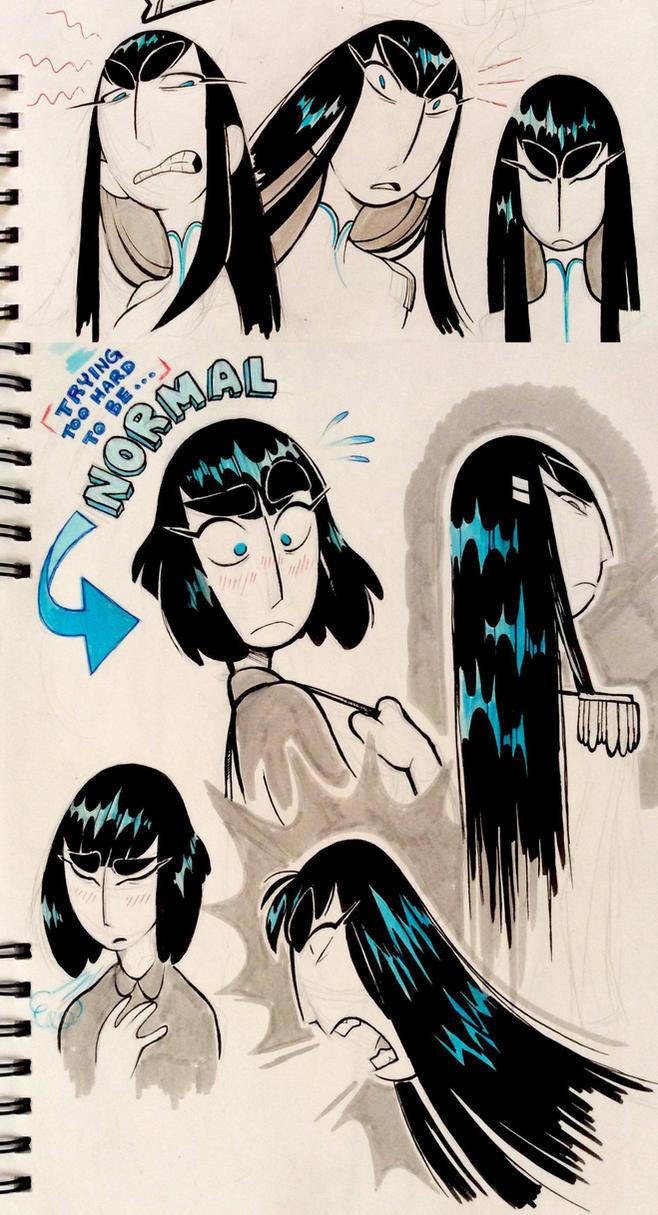 Stylized Satsuki's by Graystripe64