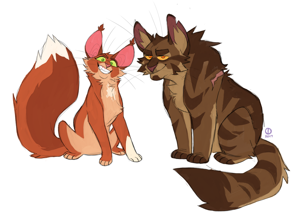 ThunderClan Power Couple by Graystripe64