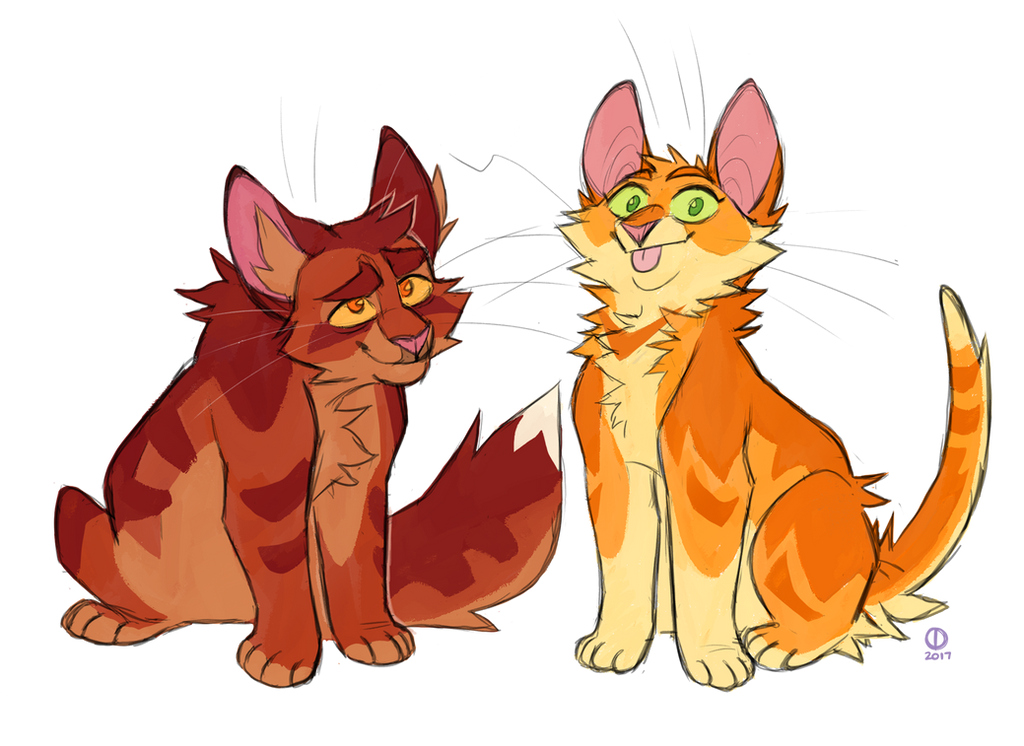 Perfect Siblings by Graystripe64