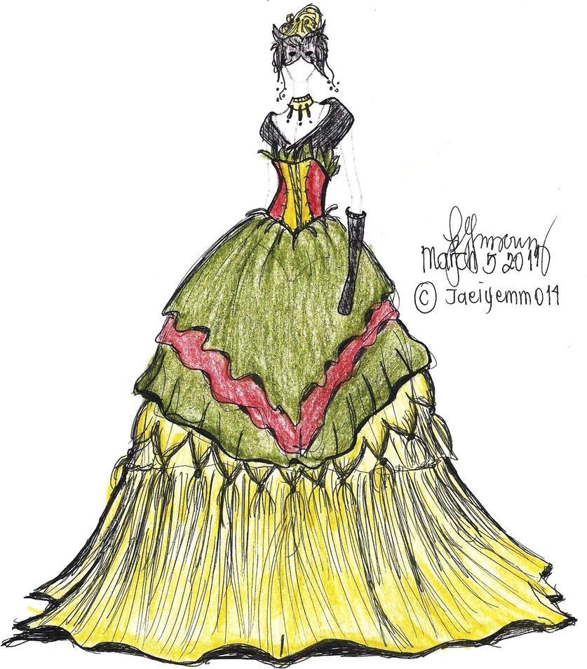 Golden Masquerade by Jaeiyemm014