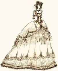 Lolita gown by JoyceCruz