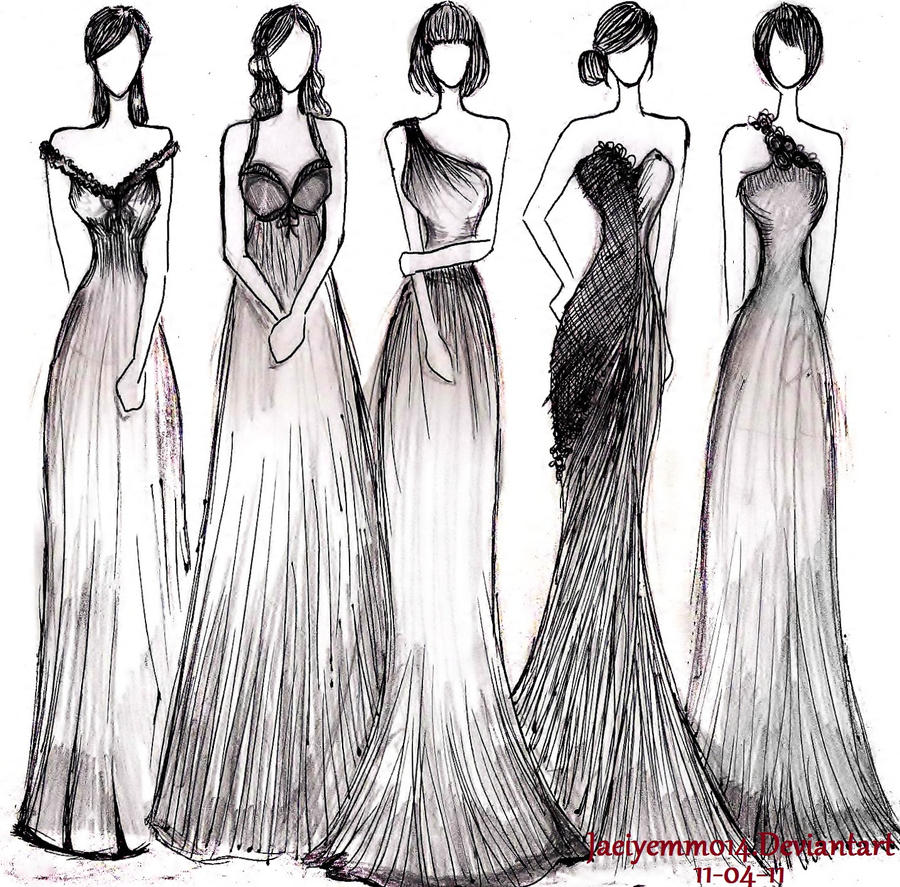 Evening Gowns by JoyceCruz on DeviantArt