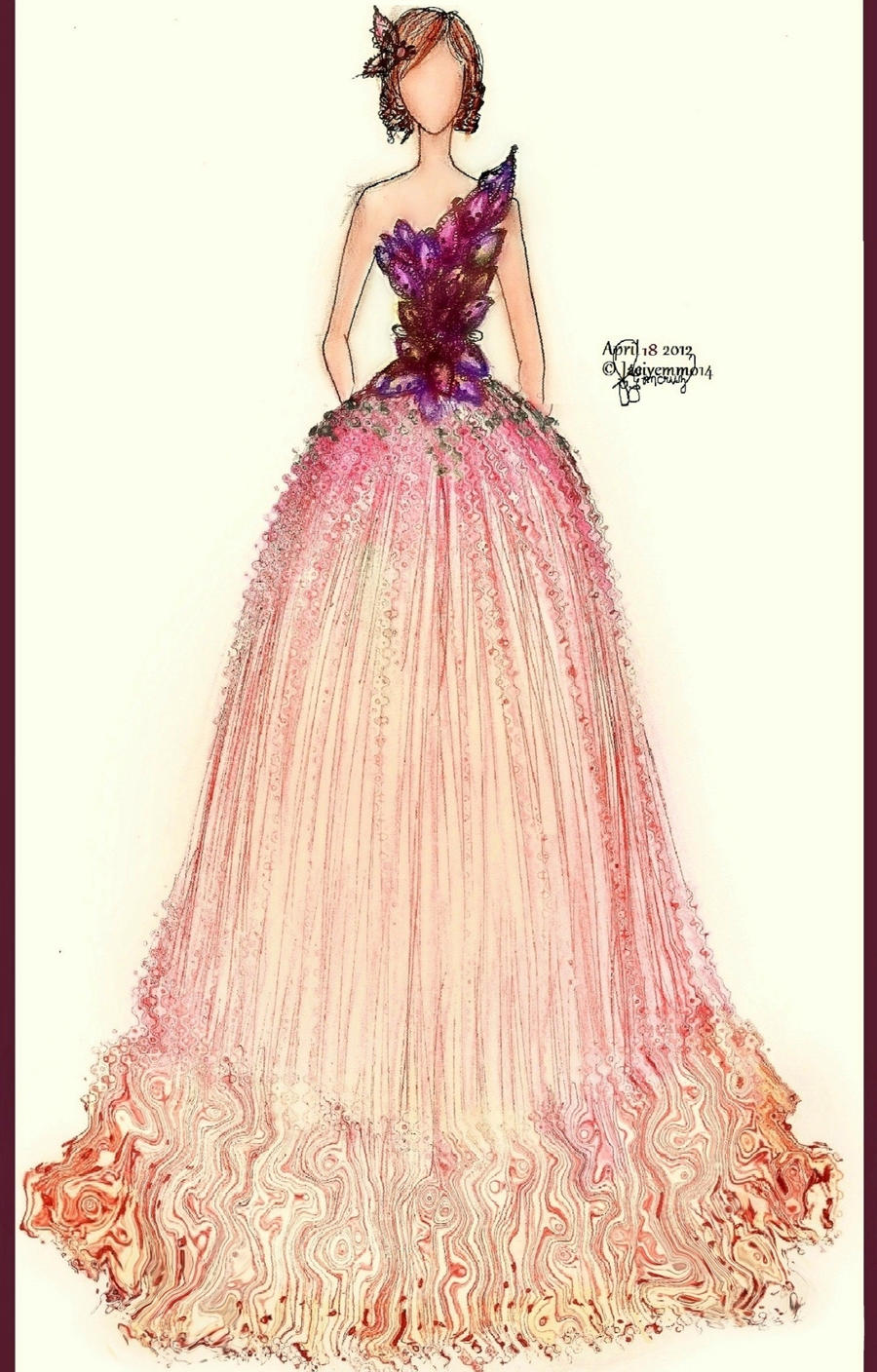 Lavander Gown by Jaeiyemm014